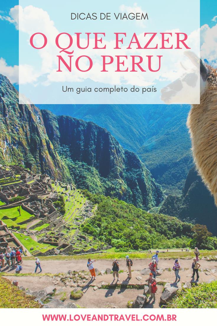 O que fazer no Peru?