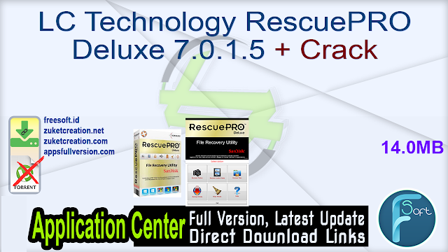 LC Technology RescuePRO Deluxe 7.0.1.5 + Crack