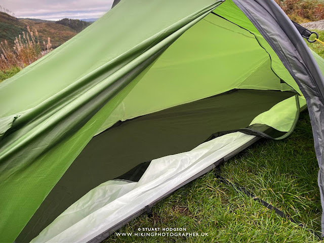 Review: Zephyros Compact Tent by Wild Country camping
