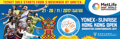 Yonex Sunrise Hong Kong Open 2017