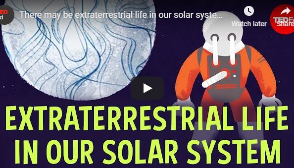 Vida extraterrestre no nosso sistema solar...