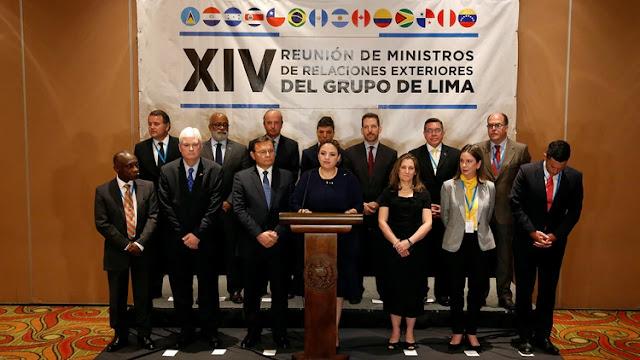 El Grupo de Lima se reunirá en Buenos Aires el 23 de julio para intensificar la presión internacional sobre el régimen de Nicolás Maduro
