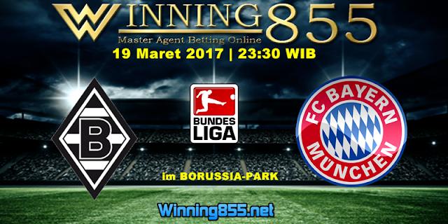 Prediksi Skor Borussia M'gladbach vs Bayern Munchen 19 Maret 2017
