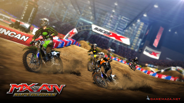 MX VS ATV Supercross Gameplay Screenshot 1