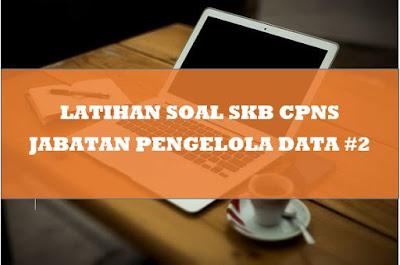 Latihan Soal SKB CPNS Jabatan Pengelola Data #2