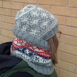 Gratis mönster Vinterfröjd