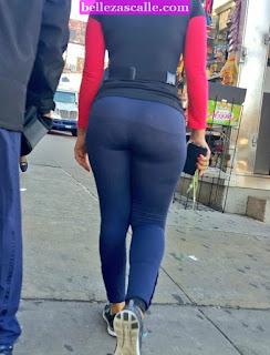 Mujeres leggins tanga marcada