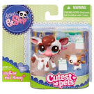 Littlest Pet Shop Mommy & Baby Cow (#2505) Pet