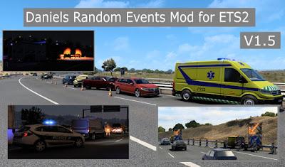 Daniel's Random Events v1.5 - ETS2 1.41