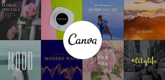 تنزيل Canva: تصميم الجرافيك والشعار ، فلاير ، صانع الملصقات - برنامج قوي لإنشاء تصميمات رسومية لنظامي الاندرويد و الوينداوز