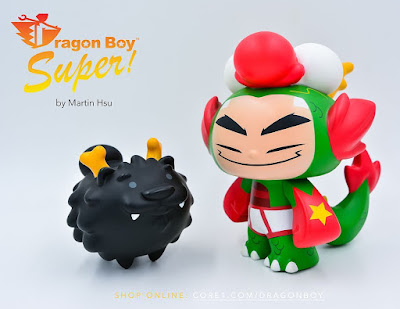 San Diego Comic-Con 2019 Dragon Boy Super League OG Edition Vinyl Figure Set by Martin Hsu
