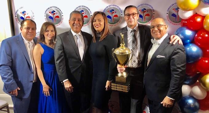 Asociación Dominicana de Golf USA escoge a los mejores  jugadores del año durante  gala anual