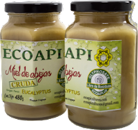 Miel Cruda Eucalyptus Sin glifosato  ECOAPI ECOAPICULTORES