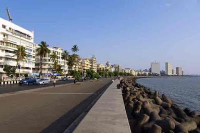 Marine Drive Mumbai,mumbai beach,marine drive