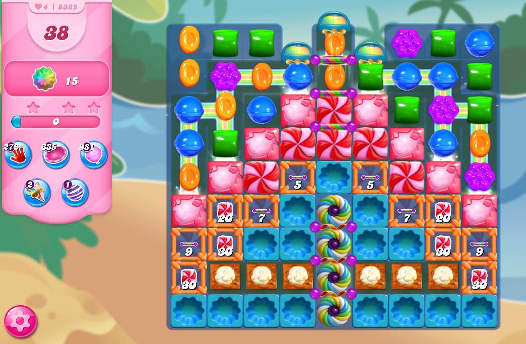 Candy Crush Saga level 8385