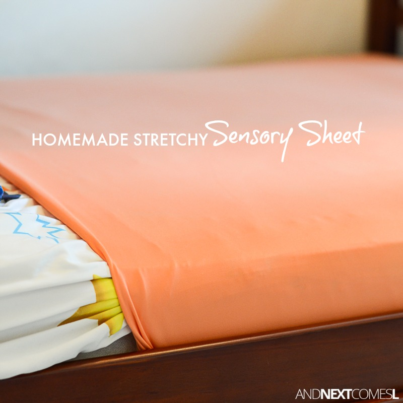 Great Tutorial For Making Homemade DIY Stretchy Lycra Sensory Sheets For Kids  With Autism Or Sensory Processing