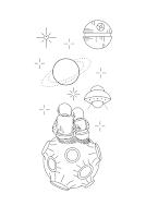 тату космос