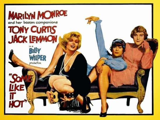 CON FALDAS Y A LO LOCO (SOME LIKE IT HOT, 1959)