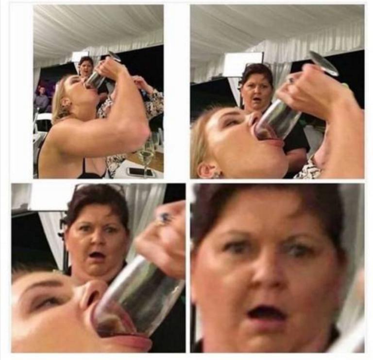 Quando uma mãe descobre que a filha gosta de 'mamar'