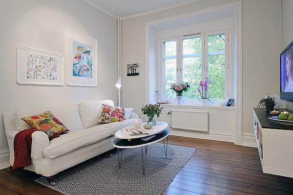 Stylish And Chic Design Swedish Apartment Interior