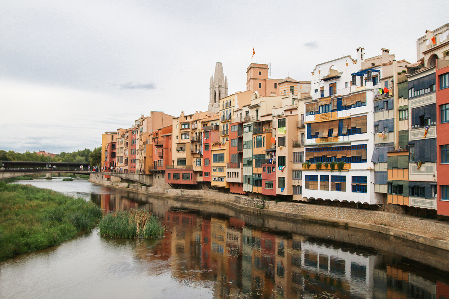 Onyar River Girona is a must visit