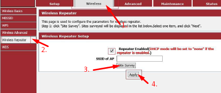 router repeater