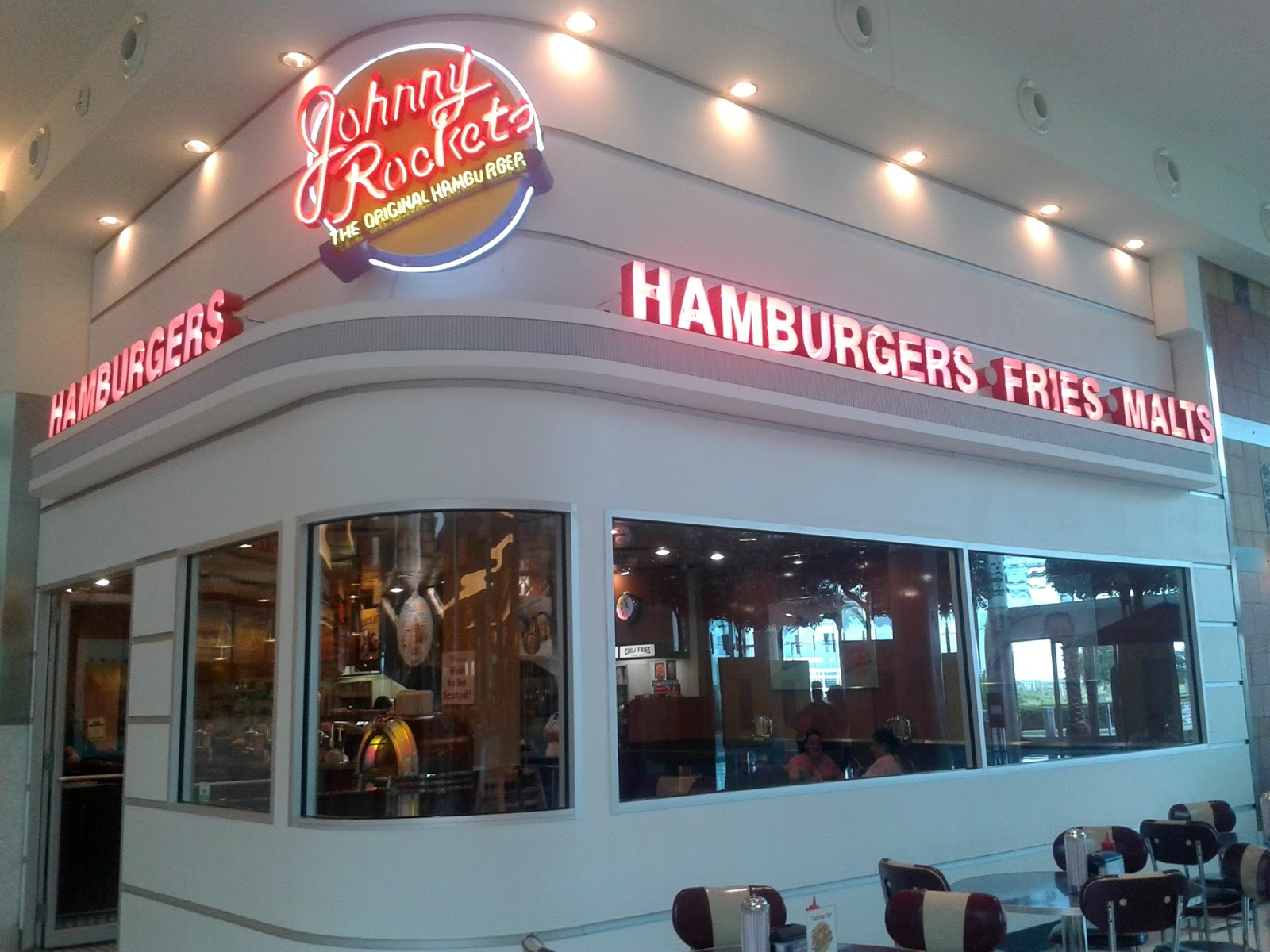 Johnny Rockets Mall at Millenia