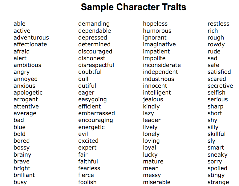 How to Craft Compelling Characters