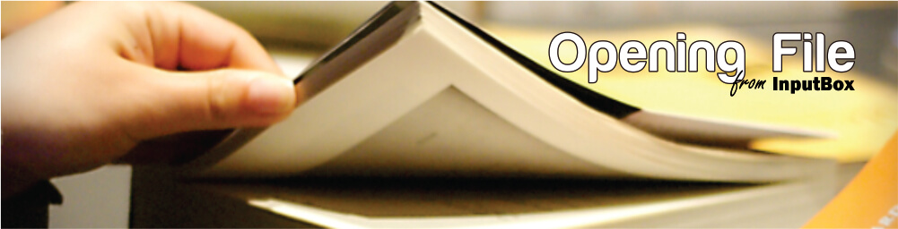 Membuka File Menggunakan InputBox