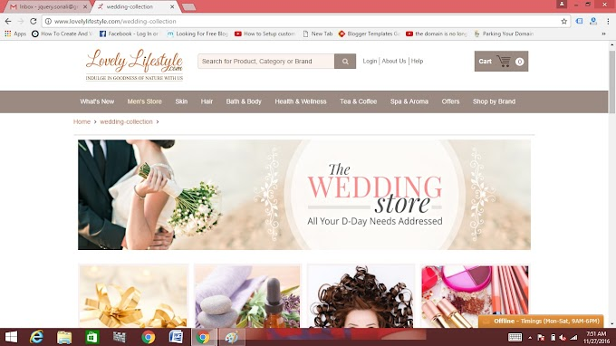 Lovelylifestyle(dot)com shopping experience and website review