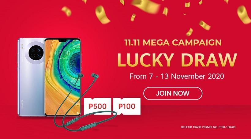 Huawei 11.11 Lucky Draw