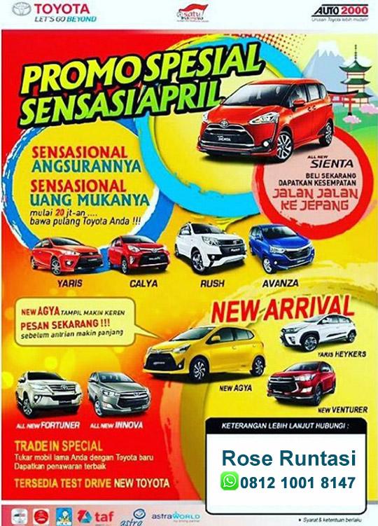 Promo Toyota Curug Tangerang