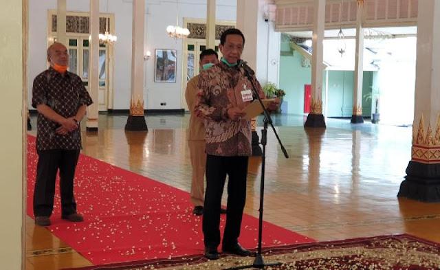 Jokowi Minta Inpres Protokol Corona Diterapkan, Sultan HB X Jawab Permintaan Jokowi dengan Kearifan Lokal