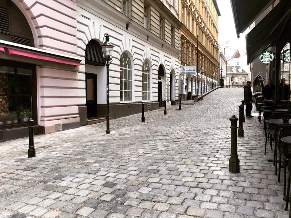 vienna griechengasse, oldest street