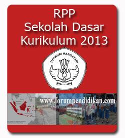RPP SD Kurikulum 2013 | Semester 1