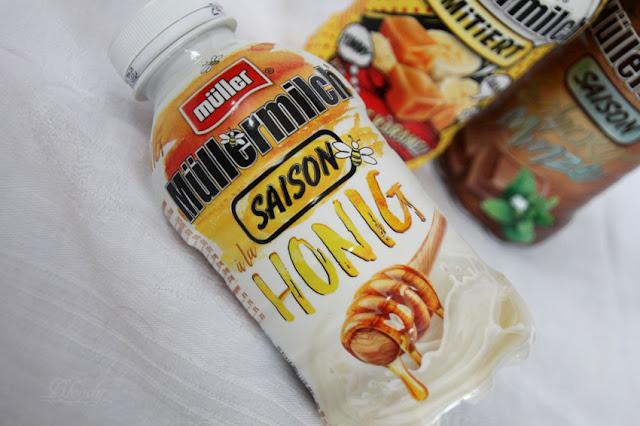Müllermilch der Saison - à la Honig in der Tasse