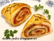 Slané plnené slimáky - recept