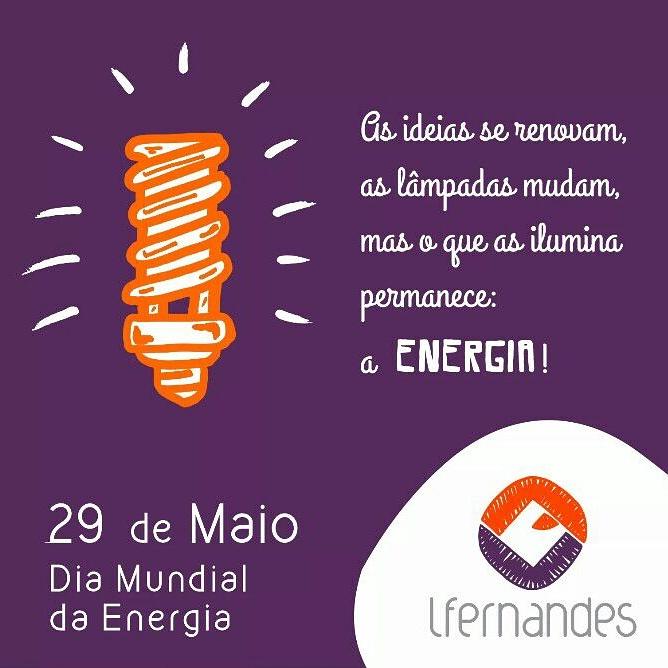 29 De Maio Dia Mundial Da Energia