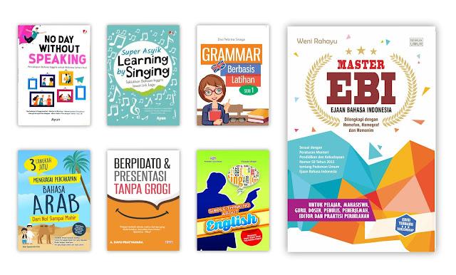 Buku Pengetahuan Bahasa dan Sastra Untuk Koleksi Perpustakaan Desa
