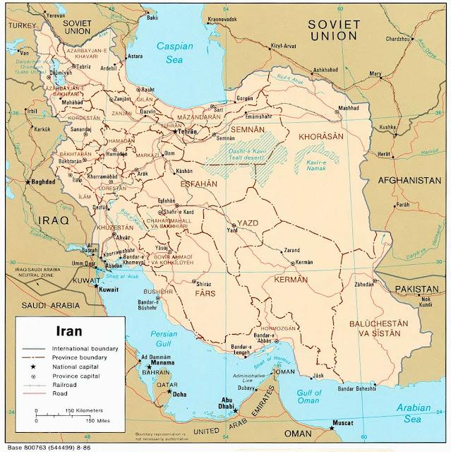تحميل خرائط إيران بدقة عالية جدا(Iran Maps)