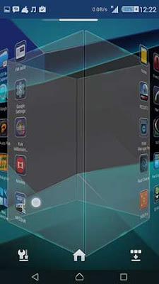 Aplikasi Next Launcher 3D Shell