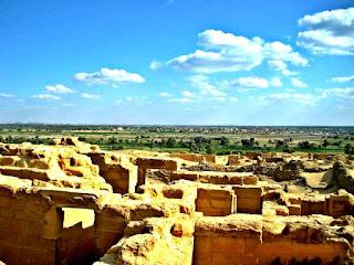بقايا المعبد البطلمي الجنوبي بقرية كرانيس