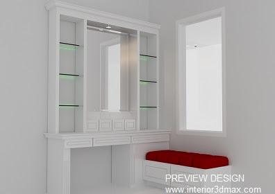 Design Meja Rias Simple Minimalis Elegan