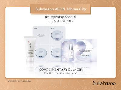 Sulwhasoo Free Door Gift