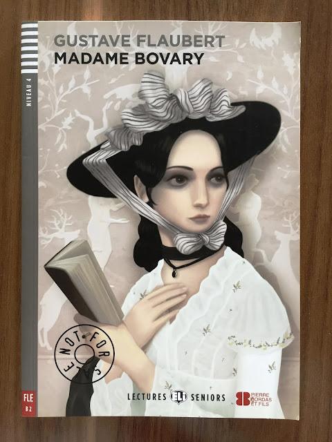 "Recenzja #146 - Madame Bovary - okładka książki pt. ""Madame Bovary"" - Francuski przy kawie"