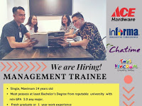 Rekrutmen Ace Hardware via Kampus Unand, Interview 28 sd 29 Januari 2019