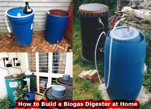 How to Build a Biogas Digester at Home