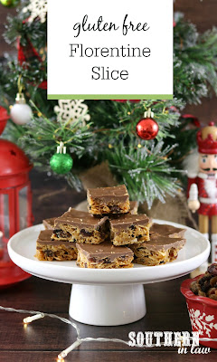 Easy Gluten Free Florentine Slice Recipe