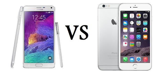 أيهما أشتري: iPhone 6 Plus أم Galaxy Note 4