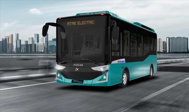 تركيا تسلم 20 حافلة كهربائية إلى رومانيا